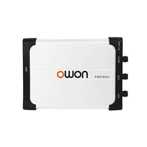 Owon VDS1022I - Osciloscopio virtual (USB, 25 MHz)