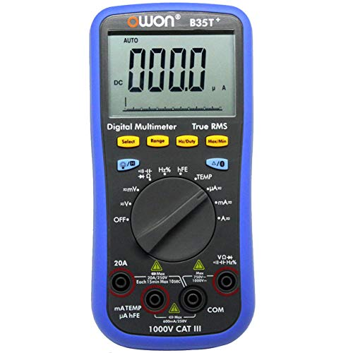 OWON B35T+ Multímetro 3 IN 1 LED Digital Bluetooth Multimeter True-RMS Voltmeter Ammeter Ohmmeter Supported Mobile App Control