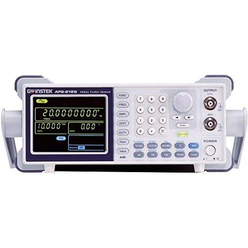 GW Instek afg-2105Generador de funciones arbitrarie con Range de frecuencia 0.1Hz–5mhz y 1Canales