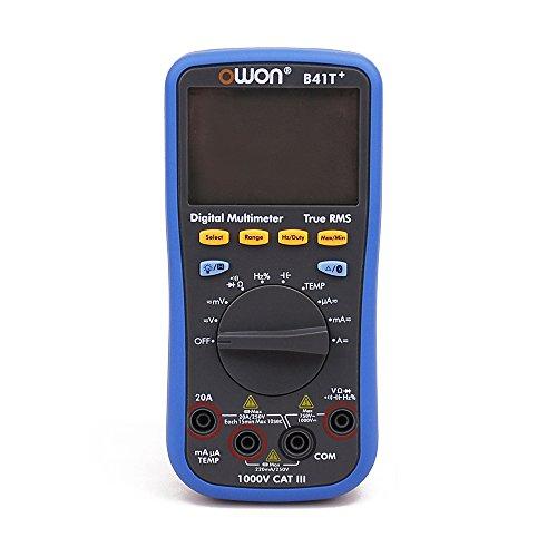 OWON B41T+ 4 1/2 Multímetro Digital con Bluetooth True RMS Medidor de prueba de retroiluminación