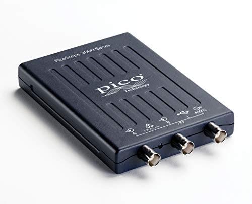 PicoScope 2205A-D2 - Osciloscopio de 2 canales, 25 MHz, USB, sin sondas