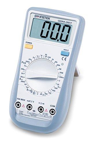 GW Instek GDM-357 - Multímetro digital de mano (3-1/2 dígitos)