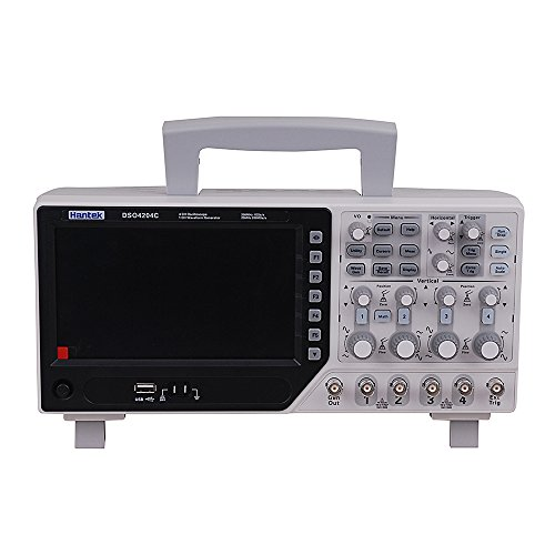 Hantek DSO4204C Digital speicher oszilloskop Oscilloscope 64k 4ch 200 MHz fuente de señal