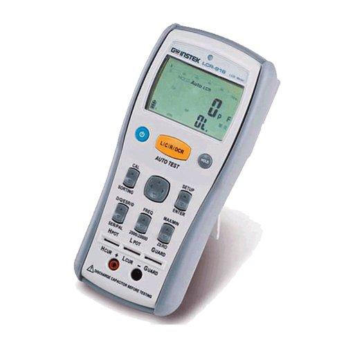 GW Instek lcr-915Handheld LCR Meter, 100Hz/120hz/1kHz/10kHz Frecuencia de prueba