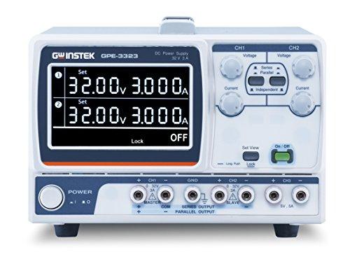 GW Instek GPE-3323 Labornetzgerät, einstellbar 0-32V 0-3A 217W Anzahl Ausgänge 3 x