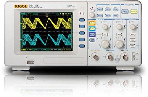 Rigol - Osciloscopio de 2 canales (almacenamiento digital, ancho de banda de 100 MHz)