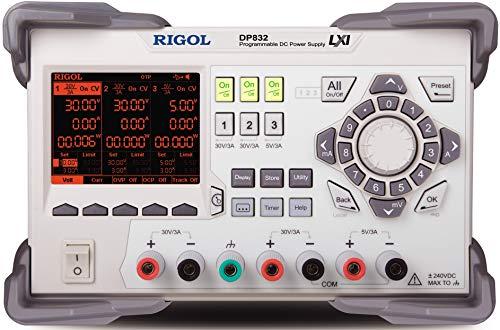 Rigol Labornetzgerät, einstellbar DP831 0 - 30 V 0 - 3 A 195 W Anzahl Ausgänge 3 x
