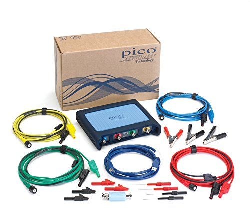 Pico Technology PP921 4425 Kit de iniciación de osciloscopio automotriz de 4 canales