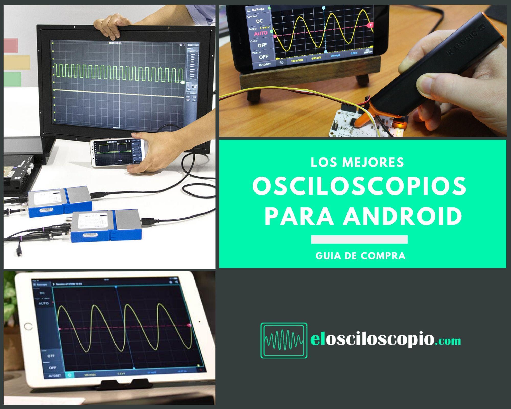 Los Mejores Osciloscopios Android