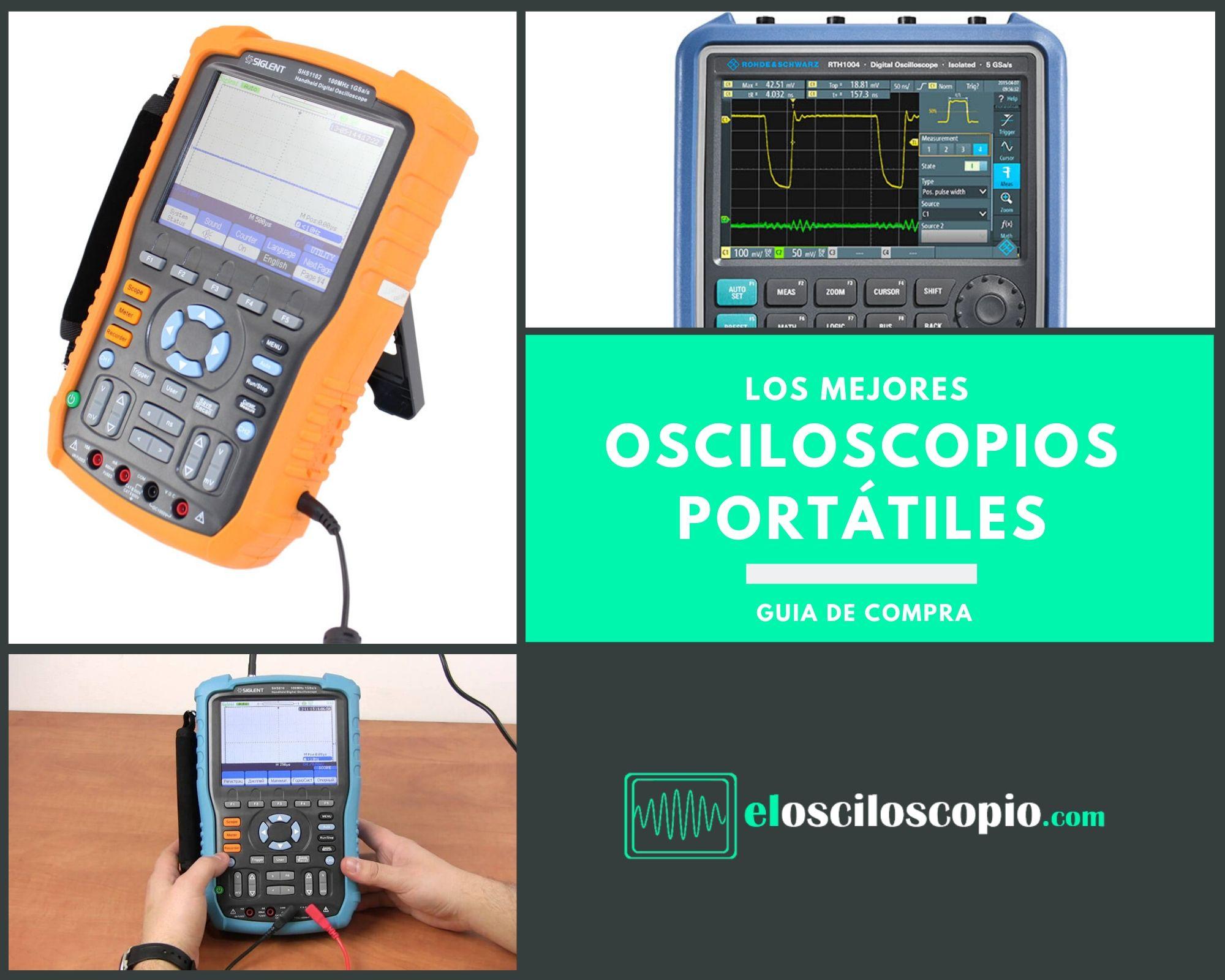 Los Mejores Osciloscopios Portatiles